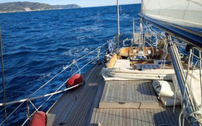 Il mare, le barche… più tardi la vela